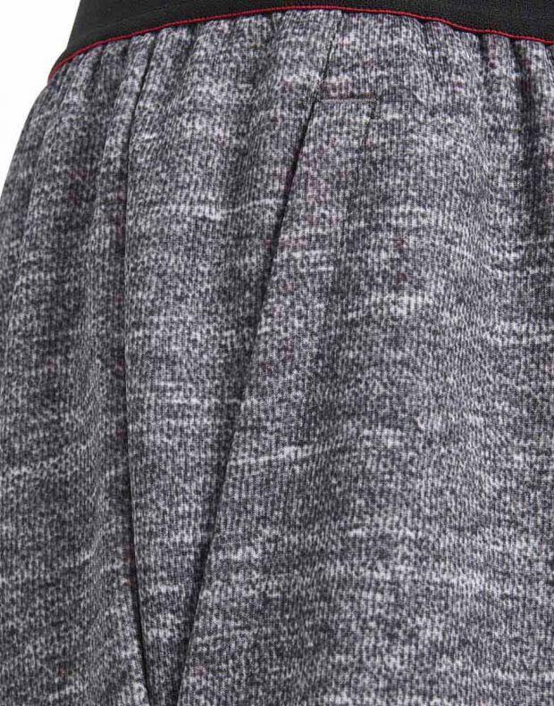 ADIDAS Manchester United Knit Kids Shorts Grey - CV6187 - 3