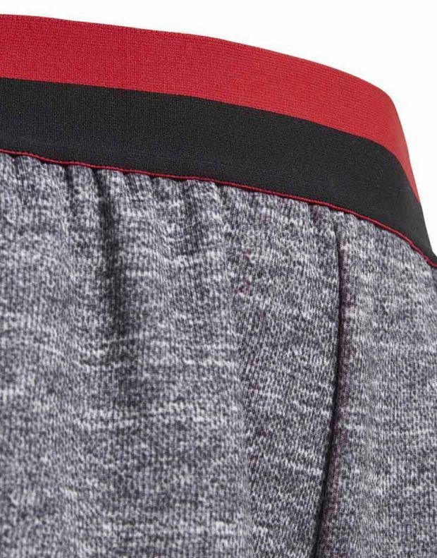 ADIDAS Manchester United Knit Kids Shorts Grey - CV6187 - 4