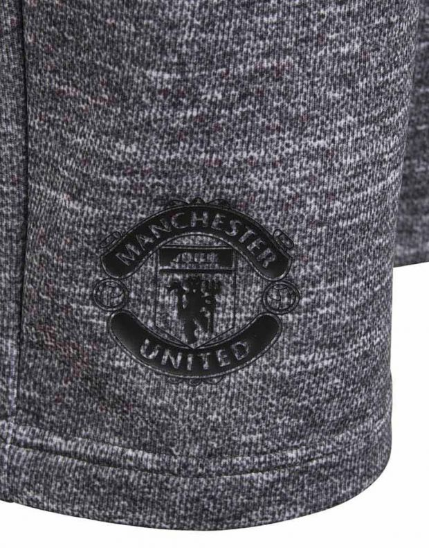 ADIDAS Manchester United Knit Kids Shorts Grey - CV6187 - 5