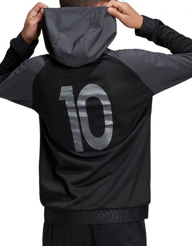 ADIDAS Messi Fz Hoodie Black - ED5722 - 2