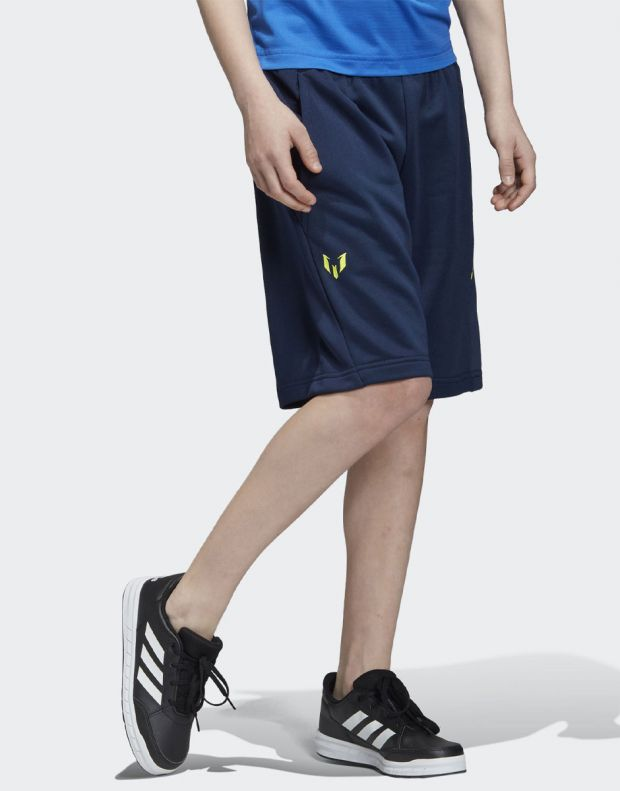 ADIDAS Messi YB Shorts Navy - DV1327 - 4