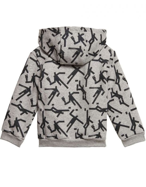ADIDAS Mini Me Id Hooded Jogger Set Grey - ED1177 - 2