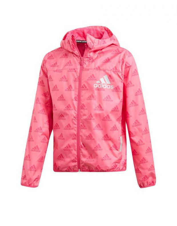 ADIDAS Must Have Wind Jacket Pink - DV0329 - 1