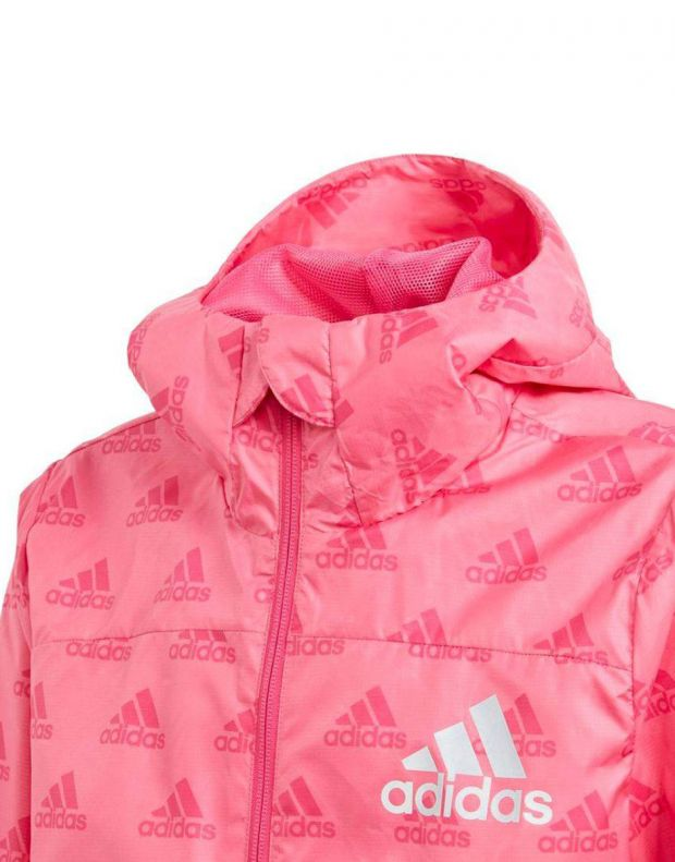 ADIDAS Must Have Wind Jacket Pink - DV0329 - 3