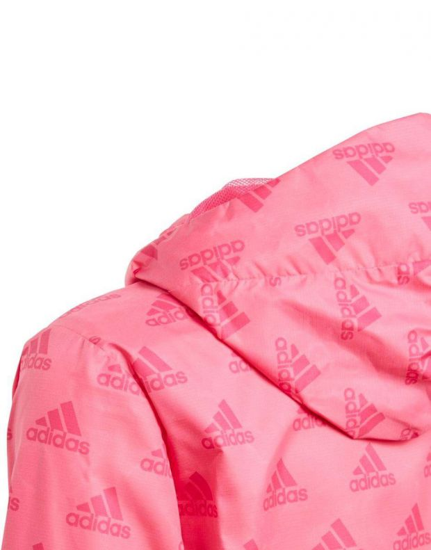 ADIDAS Must Have Wind Jacket Pink - DV0329 - 4
