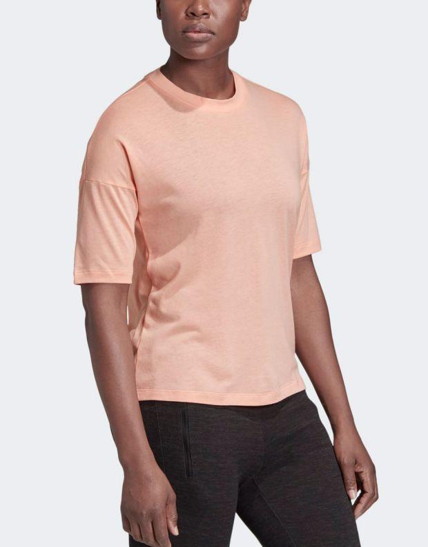 ADIDAS Must Haves 3-Stripes Tee Pink - EK4279 - 3