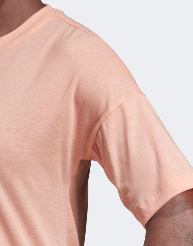 ADIDAS Must Haves 3-Stripes Tee Pink - EK4279 - 5