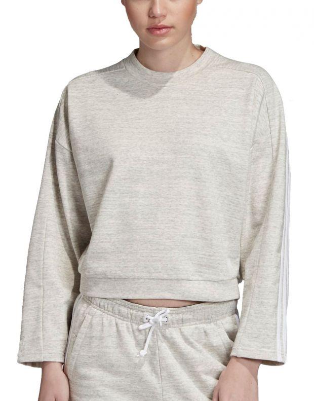 ADIDAS Must Haves Melange Sweatshirt Grey - EB3831 - 1