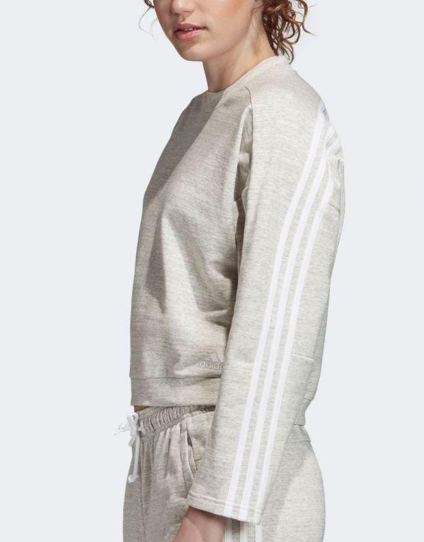 ADIDAS Must Haves Melange Sweatshirt Grey - EB3831 - 3