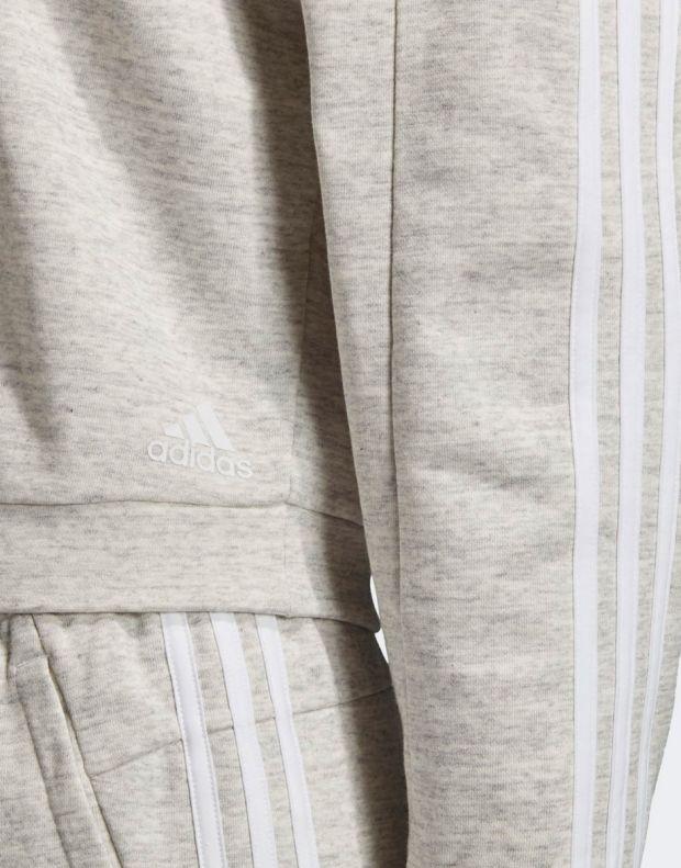 ADIDAS Must Haves Melange Sweatshirt Grey - EB3831 - 4
