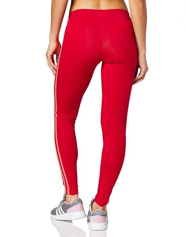 ADIDAS Originals 3-Stripes Leggings Red - ED7577 - 2
