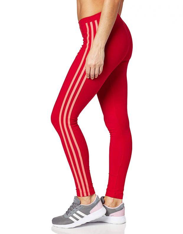ADIDAS Originals 3-Stripes Leggings Red - ED7577 - 3