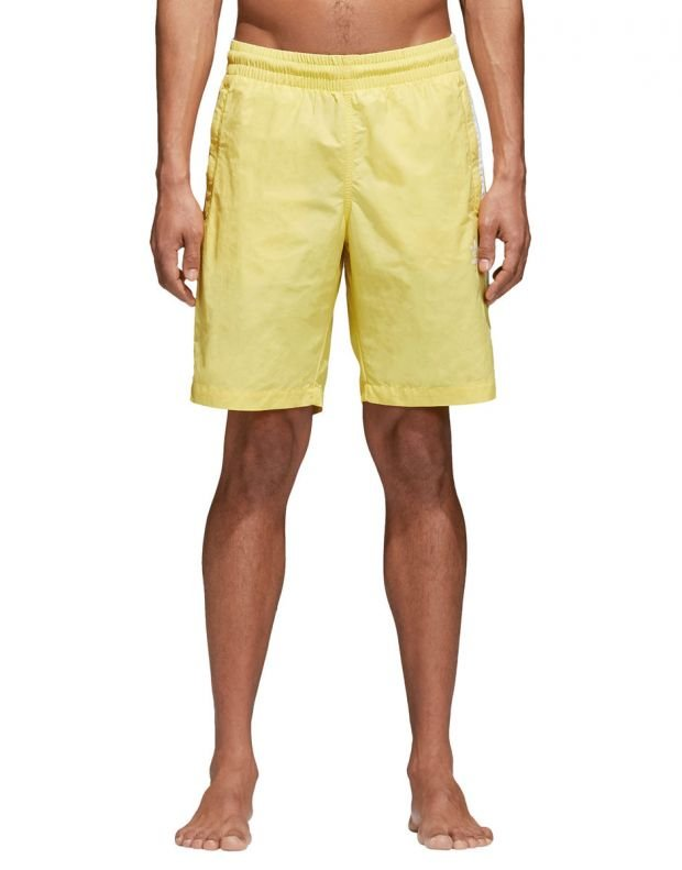 ADIDAS Originals 3-Stripes Shorts Yellow - CW1307 - 1