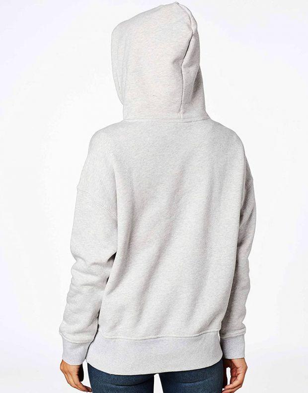 ADIDAS Originals Hoodie Light Grey Heather - ED5849 - 2