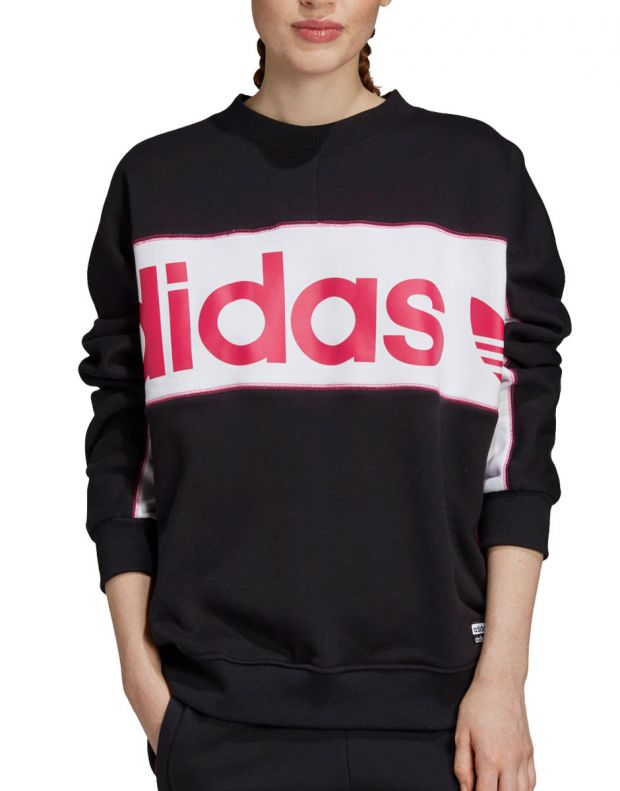 ADIDAS Originals Logo Sweatshirt Black - FH7563 - 1