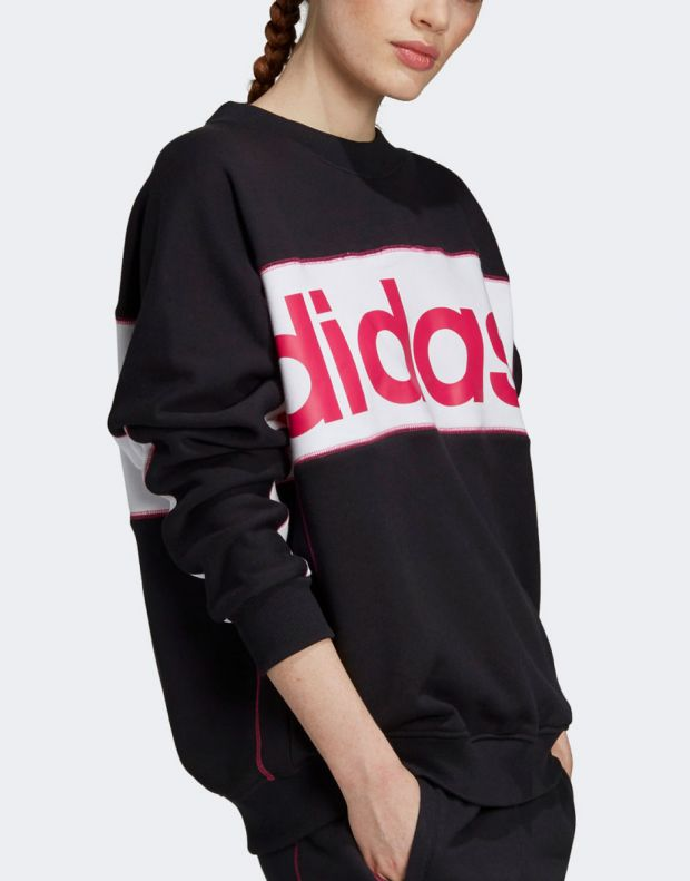 ADIDAS Originals Logo Sweatshirt Black - FH7563 - 4