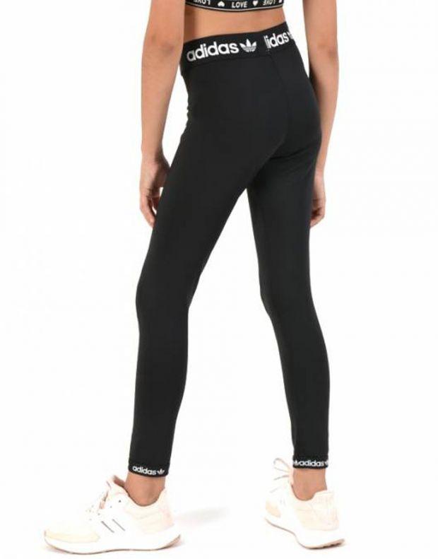 ADIDAS Originals Trefoil Logo Leggings Black - DV2875 - 2