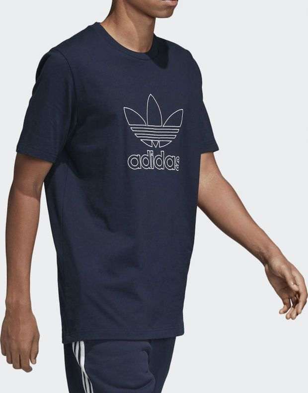 ADIDAS Outline Tee Blue - 4