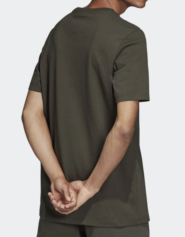 ADIDAS Outline Tee Green - DH5785 - 2