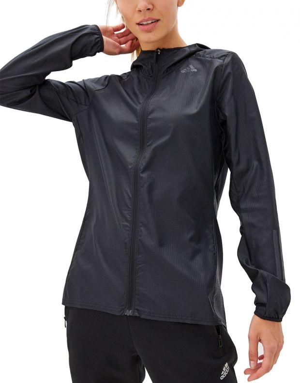 ADIDAS Own The Run Jacket Black - DZ2321 - 1