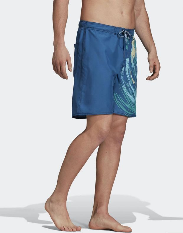 ADIDAS Parley Swim Shorts Mineral - DQ3007 - 4