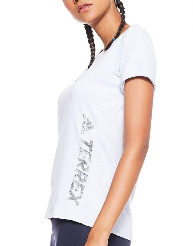 ADIDAS Polo Logo Terrex Tee White - DT4213 - 3