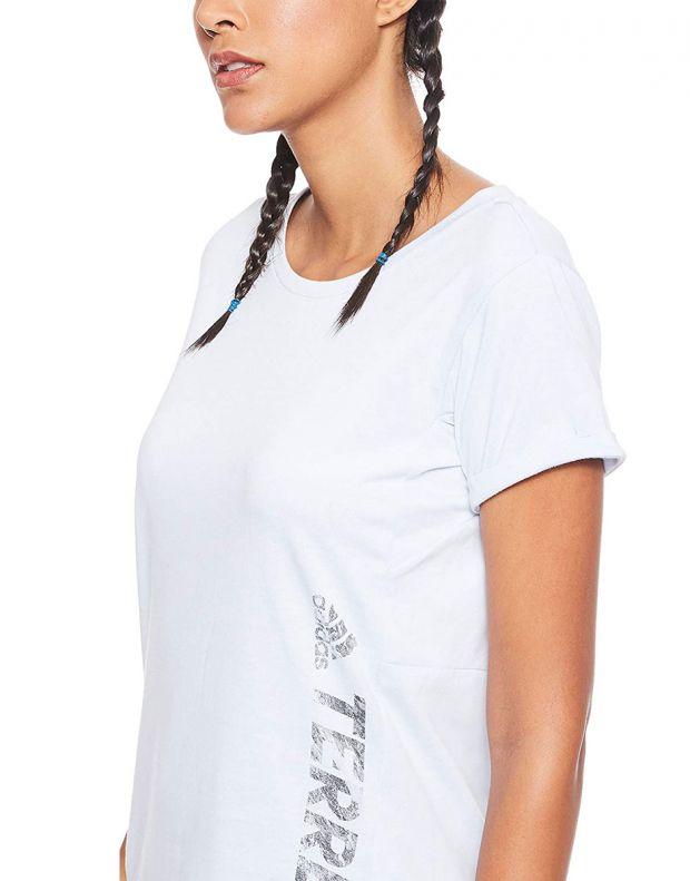 ADIDAS Polo Logo Terrex Tee White - DT4213 - 4