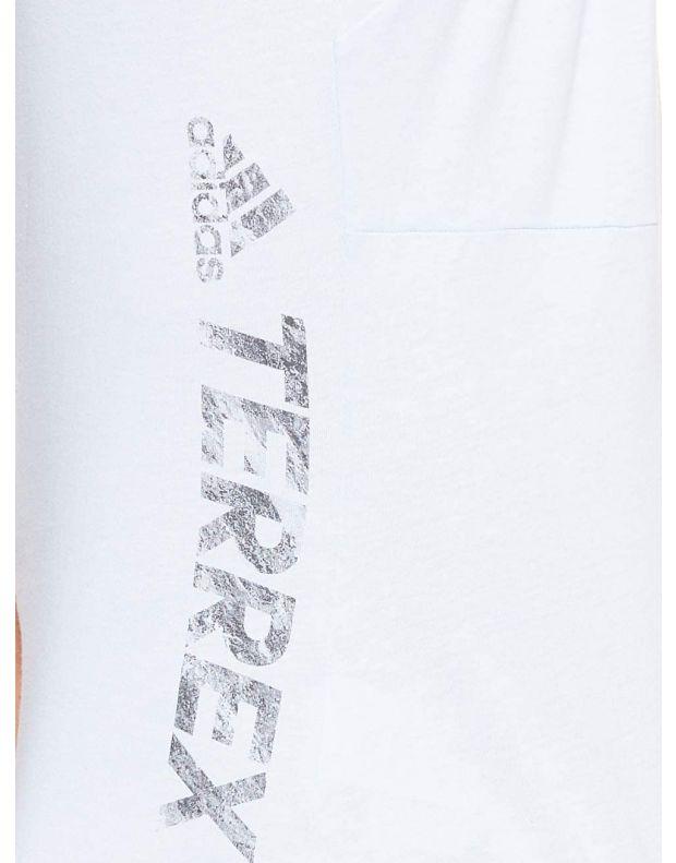 ADIDAS Polo Logo Terrex Tee White - DT4213 - 5