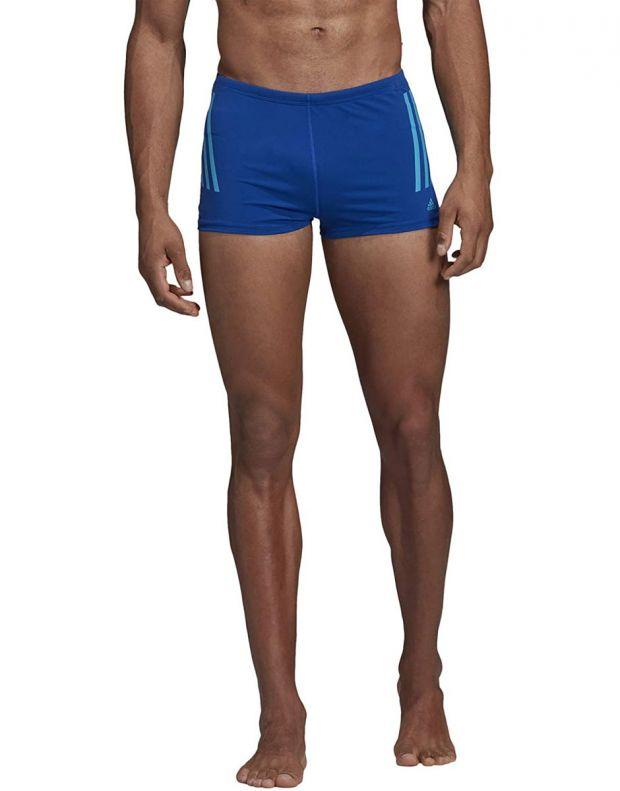 ADIDAS Pro 3-Stripes Swim Boxers Blue - DP7517 - 1