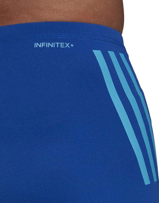 ADIDAS Pro 3-Stripes Swim Boxers Blue - DP7517 - 4