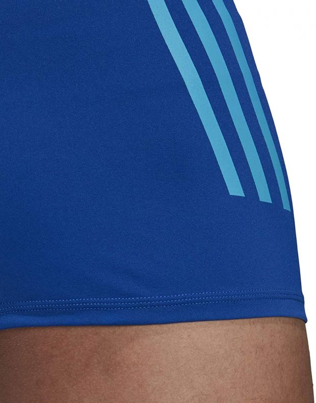 ADIDAS Pro 3-Stripes Swim Boxers Blue - DP7517 - 6