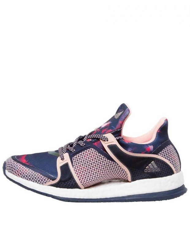 ADIDAS Pure Boost X Blue Pink - 1