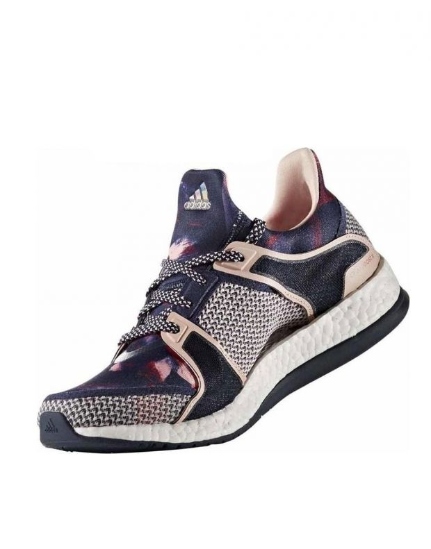 ADIDAS Pure Boost X Blue Pink - 2
