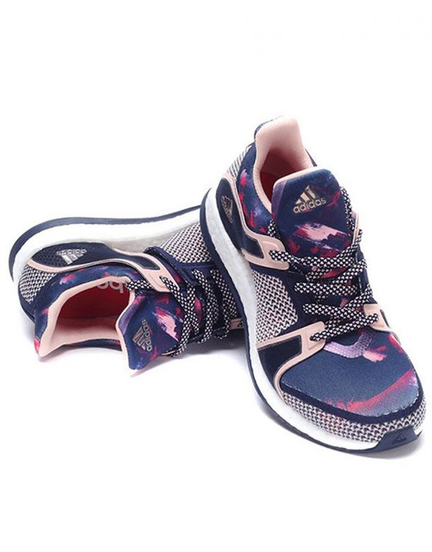 ADIDAS Pure Boost X Blue Pink - 6