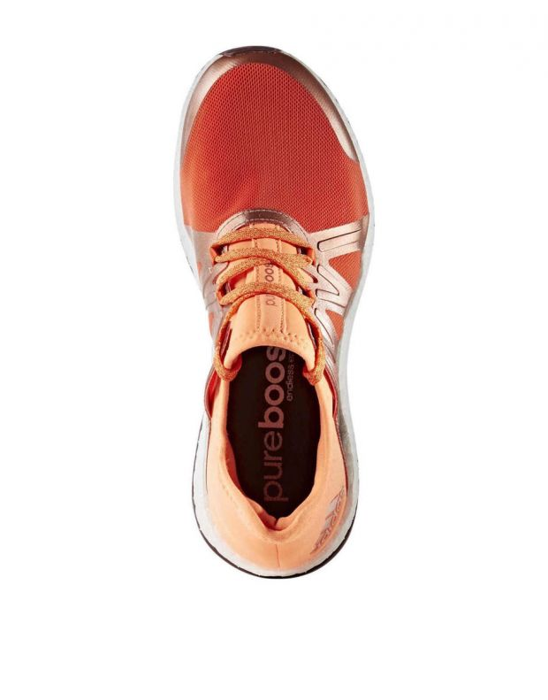 ADIDAS Pure Boost Xpose Orange - 4