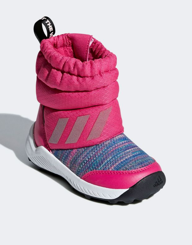 ADIDAS RapidaSnow Beat the Winter Boots Pink - AH2607 - 3