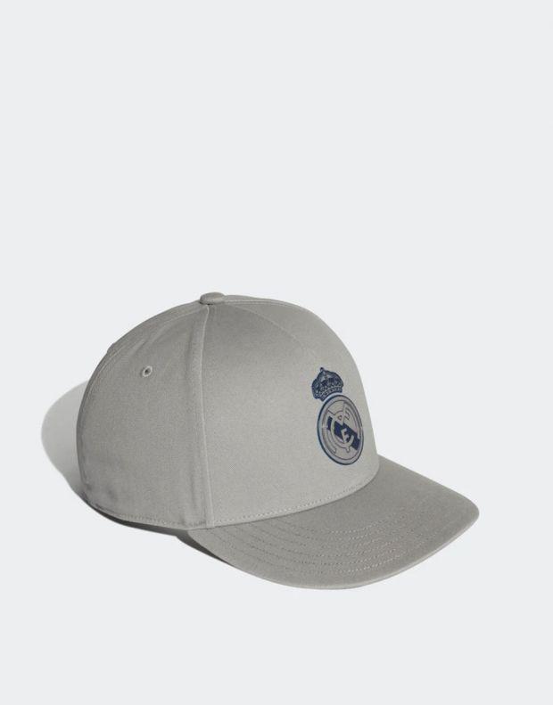 ADIDAS Real Madrid Cap Solid Grey - DY7724 - 3