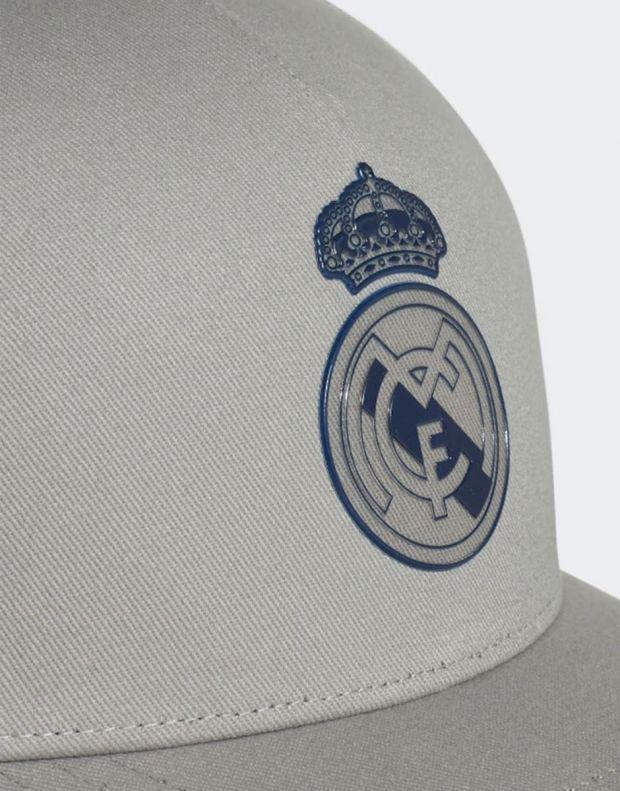 ADIDAS Real Madrid Cap Solid Grey - DY7724 - 4