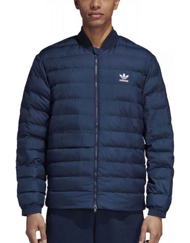 ADIDAS SST Outdoor Jacket Blue - DJ3192 - 1