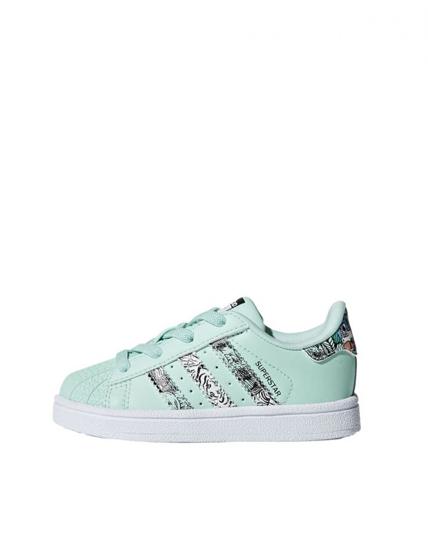 ADIDAS Superstar Sneakers Green - B75896 - 1