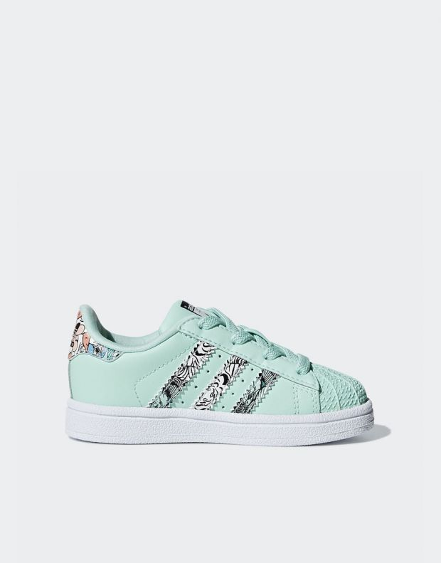ADIDAS Superstar Sneakers Green - B75896 - 2
