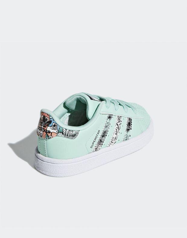 ADIDAS Superstar Sneakers Green - B75896 - 4
