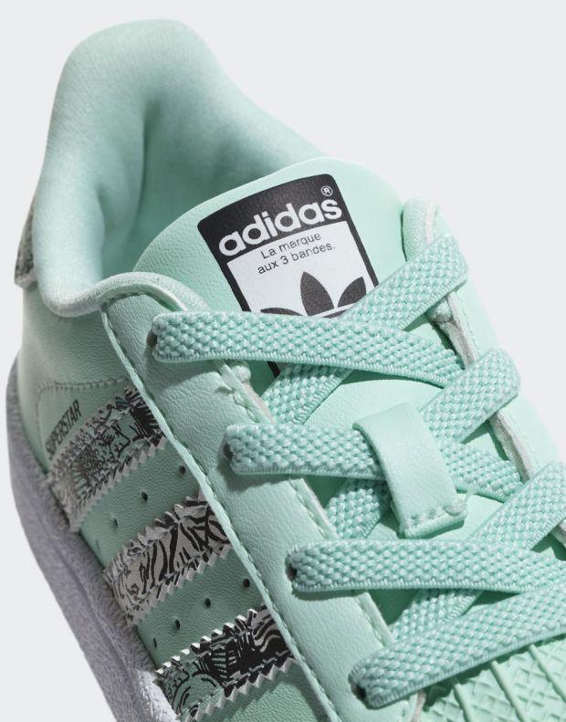 ADIDAS Superstar Sneakers Green - B75896 - 7