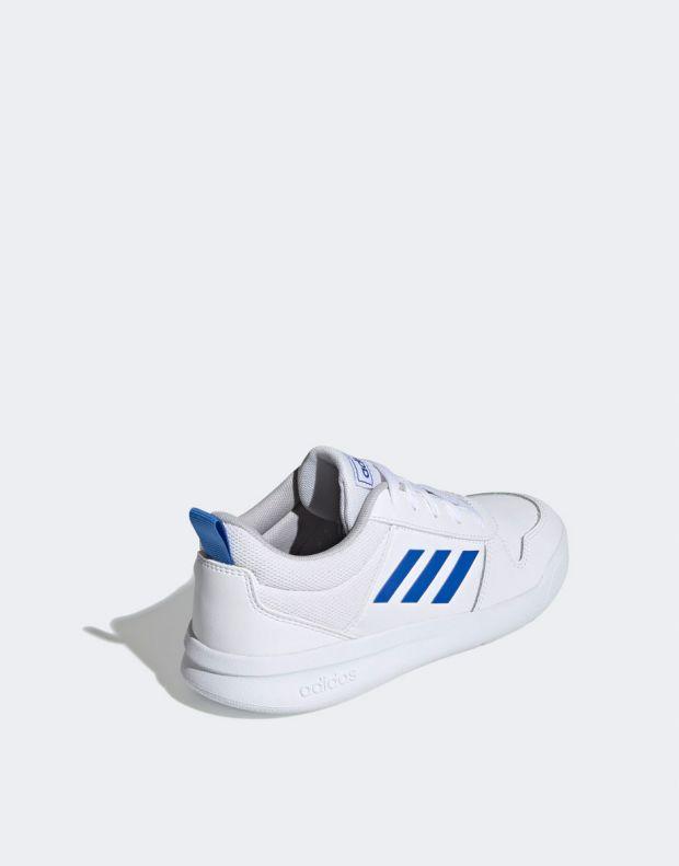 ADIDAS Tensaur K White Blue - EF1089 - 4