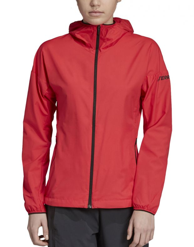 ADIDAS Terrex Agravic Jacket Red - DS8854 - 1
