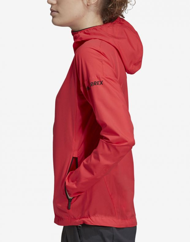 ADIDAS Terrex Agravic Jacket Red - DS8854 - 4