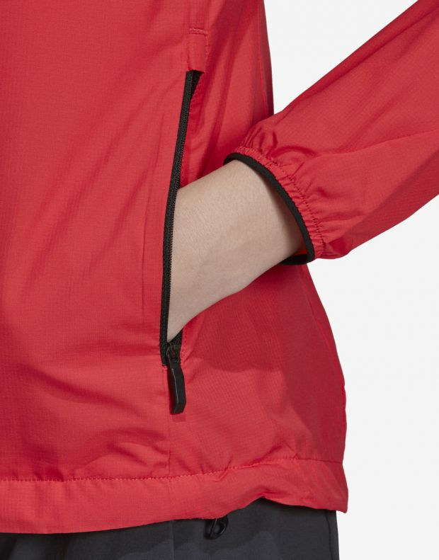 ADIDAS Terrex Agravic Jacket Red - DS8854 - 5