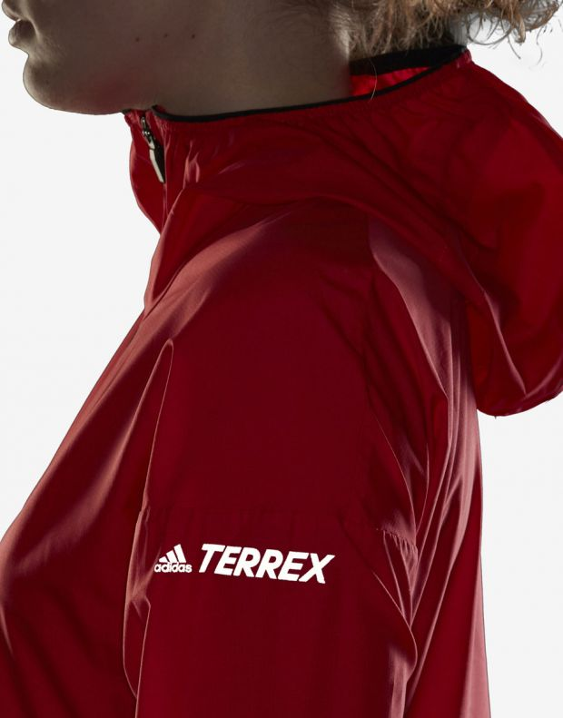 ADIDAS Terrex Agravic Jacket Red - DS8854 - 6