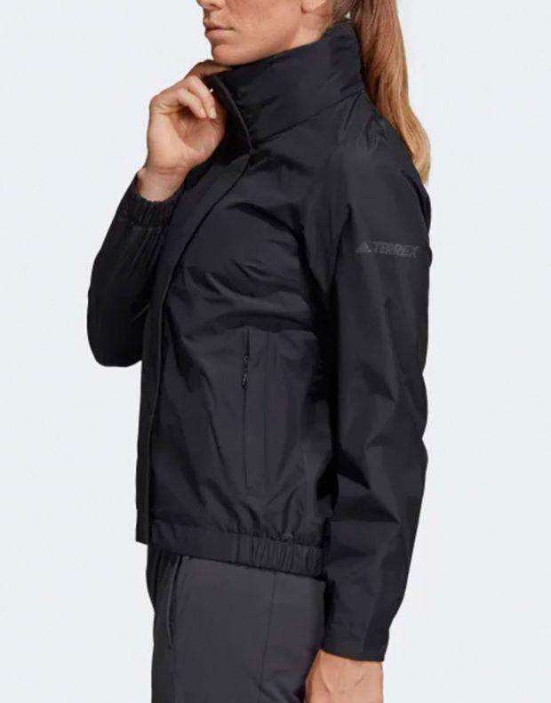ADIDAS Terrex Ax Rain Jacket Black - DT4180 - 4