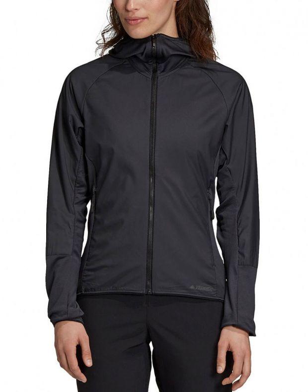 ADIDAS Terrex Skyclimb Fleece Jacket Black - DQ1524 - 1